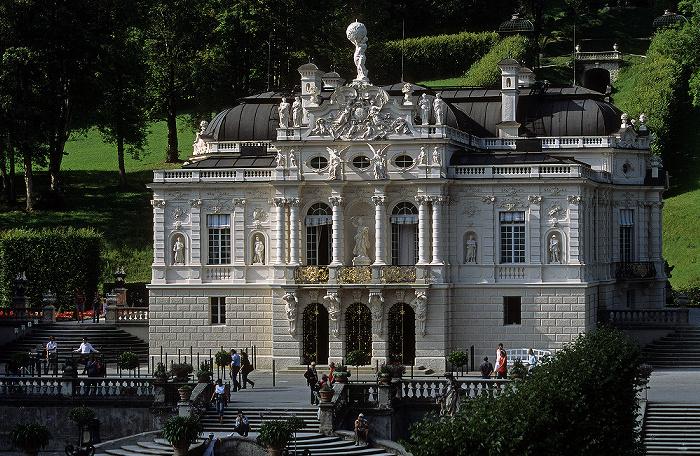 Linderhof Schloss: Hauptfassade