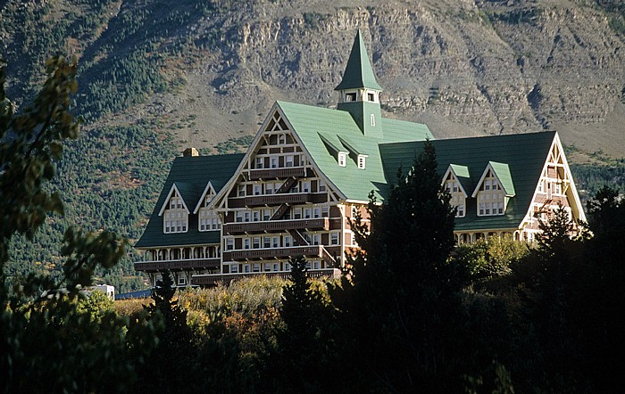 Waterton Lakes National Park Prince of Wales Hotel