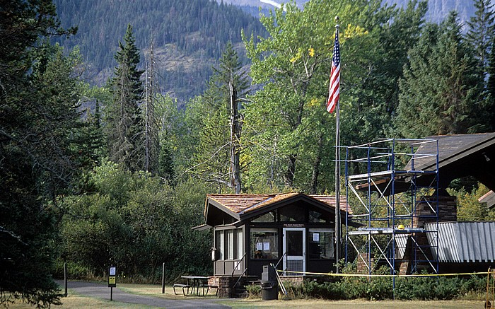 Glacier National Park (USA) Goat Haunt: Ranger Station