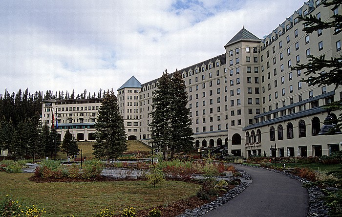 Banff National Park Fairmont Chateau Lake Louise