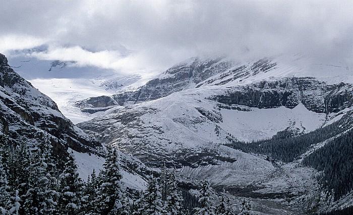 Banff National Park Blick vom Bow Summit: Wapta Icefield