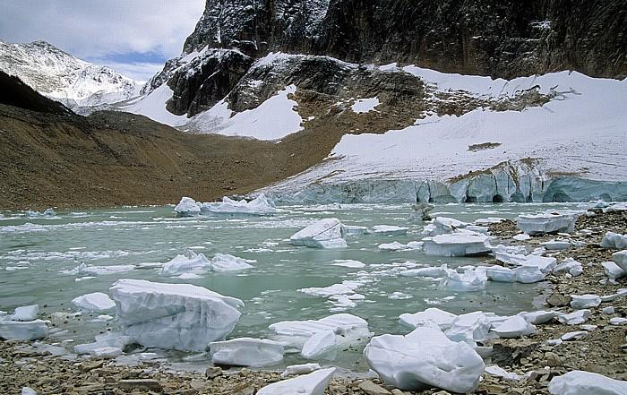 Jasper National Park Mount Edith Cavell: Cavell Glacier