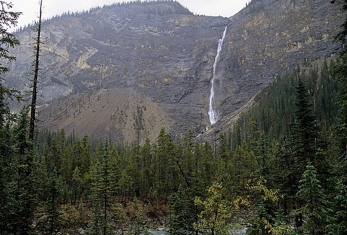 Yoho National Park Takakkaw Falls, Yoho River