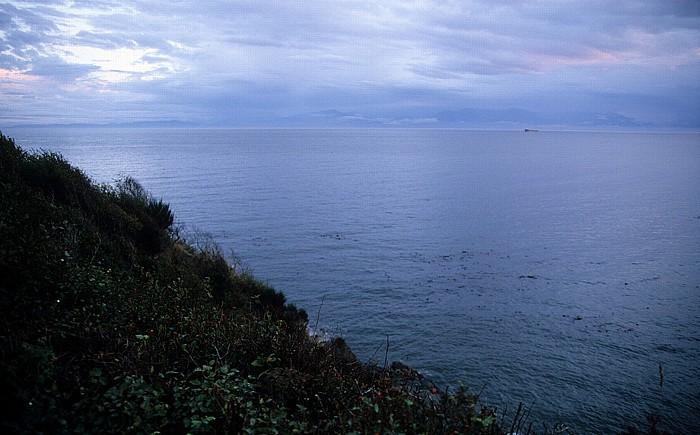 Victoria Blick auf die Strait of Juan de Fuca