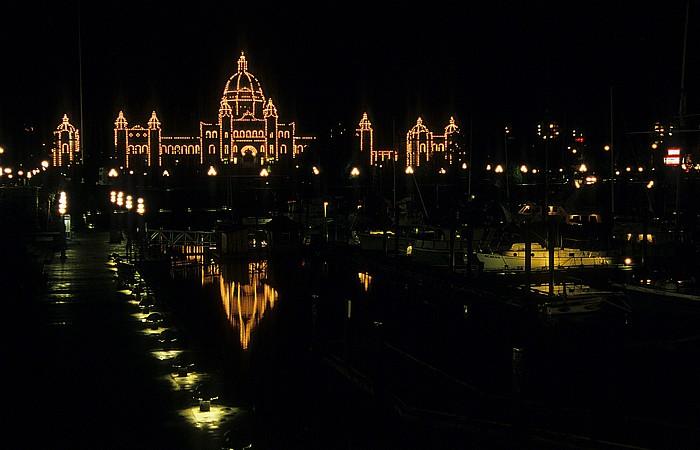 Parlamentsgebäude, Victoria's Inner Harbour