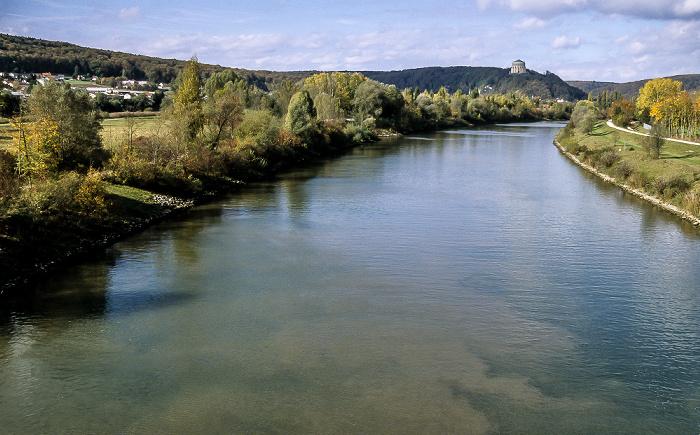 Kelheim Altmühl (Main-Donau-Kanal) Befreiungshalle Michelsberg