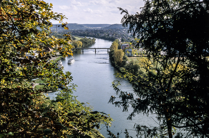 Kelheim Blick vom Michelsberg: Donau