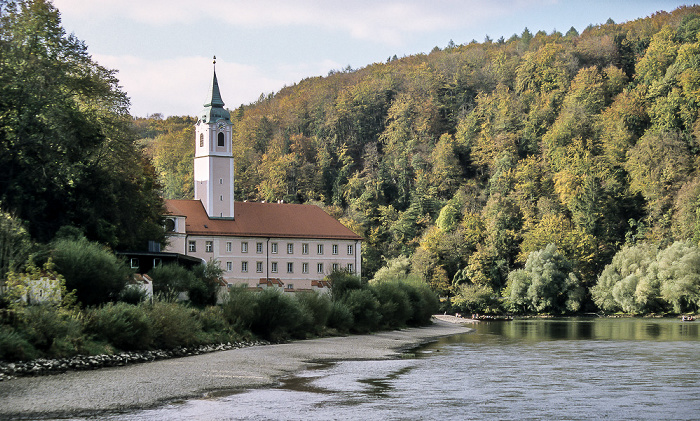 Weltenburg Kloster, Klosterkirche, Donau Benedektinerabtei Donaudurchbruch