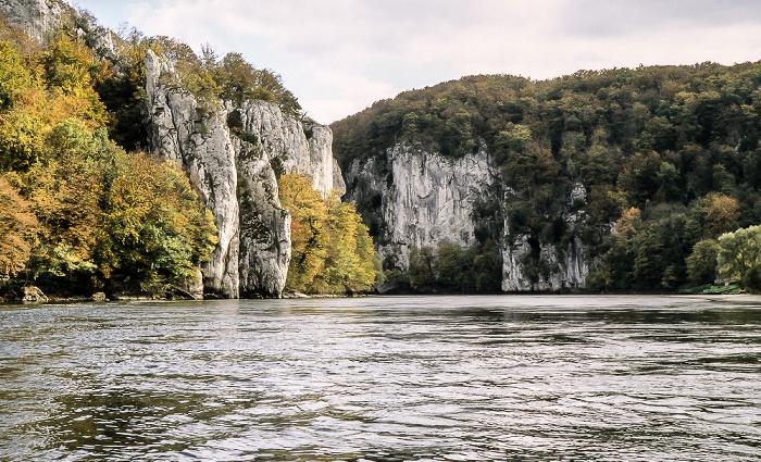Donaudurchbruch Naturschutzgebiet Weltenburger Enge