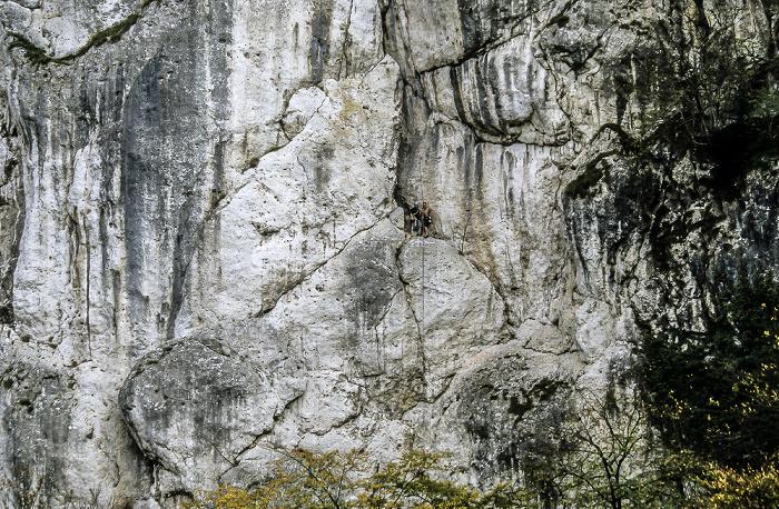 Donaudurchbruch Naturschutzgebiet Weltenburger Enge: Kletterer