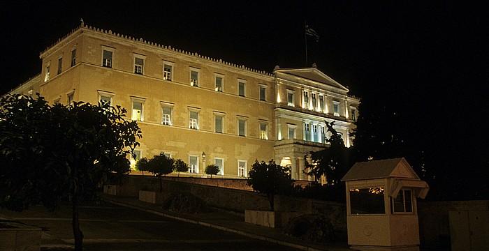 Athen Syntagma-Platz: Parlament