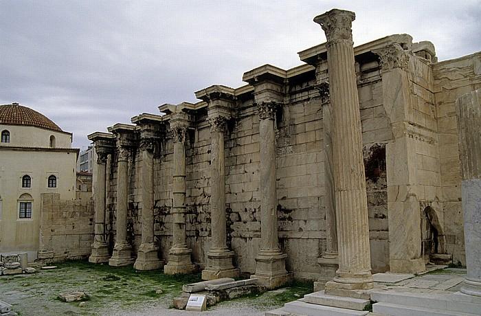 Athen Hadriansbibliothek Tzisdarakis-Moschee