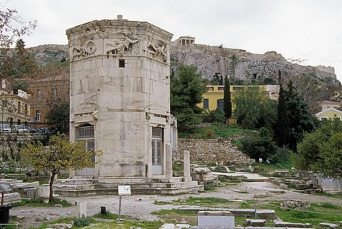 Athen Römische Agora: Turm der Winde Akropolis