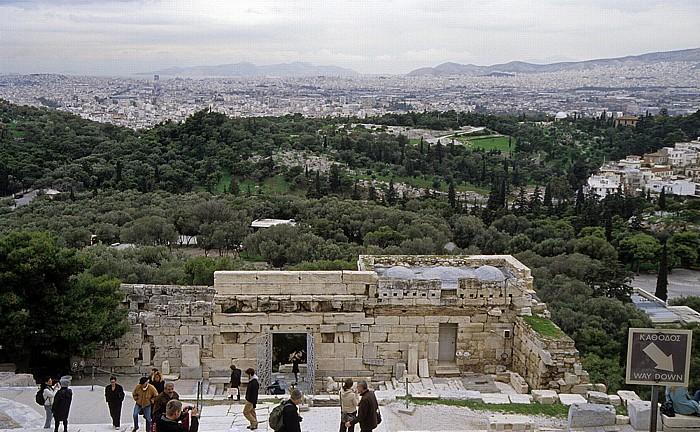 Akropolis Athen 2007