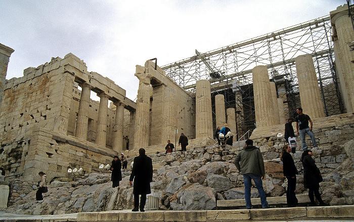 Akropolis: Propyläen Athen 2007