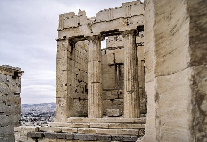 Athen Akropolis: Propyläen