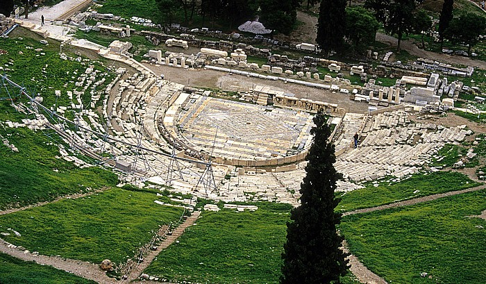 Akropolis: Dionysostheater Athen 2007
