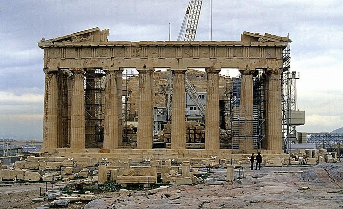 Akropolis: Parthenon Athen 2007