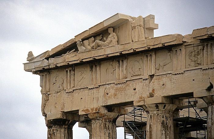 Athen Akropolis: Parthenon