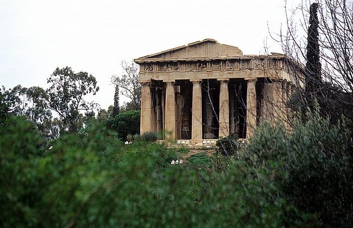 Agora: Hephaisteion Athen 2007