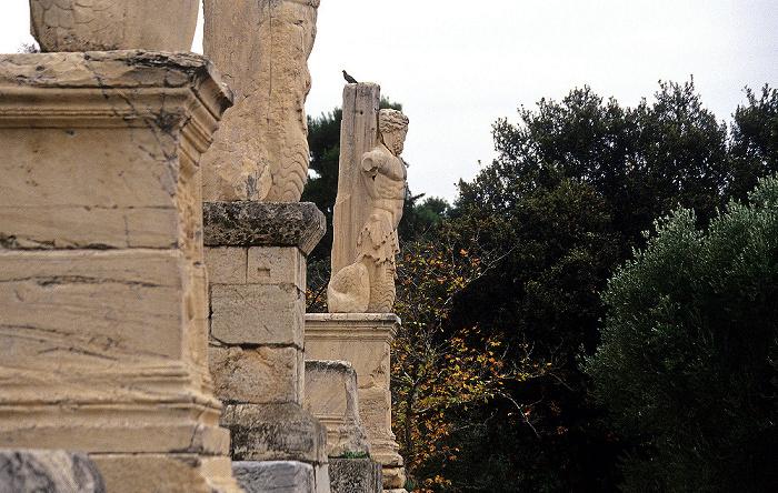 Athen Agora: Odeion des Agrippa