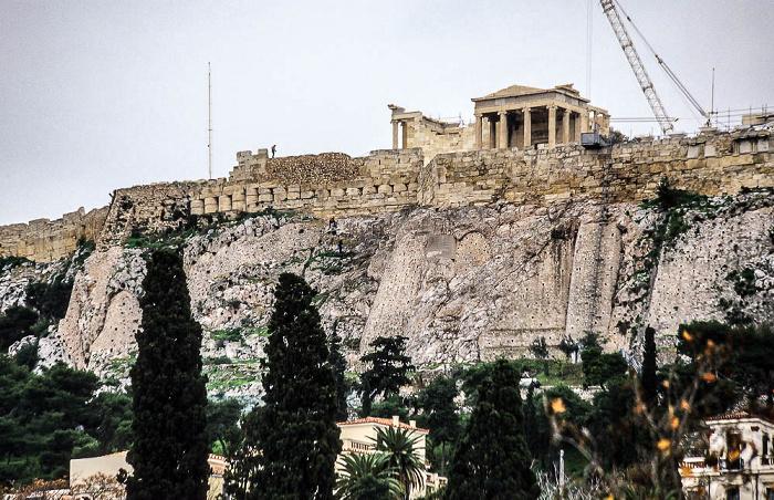 Athen Akropolis mit Erechtheion