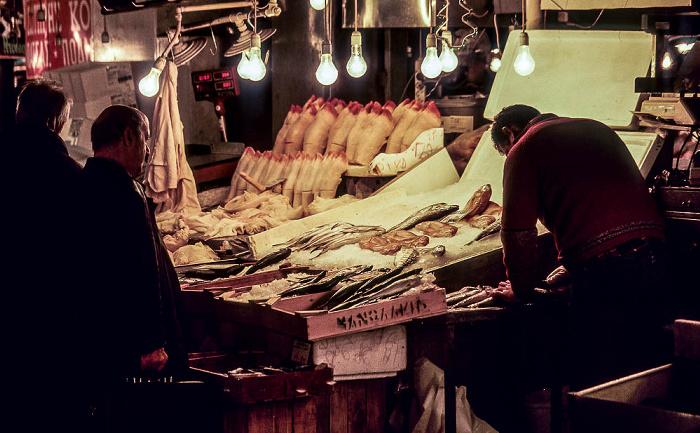 Athen Fischmarkt