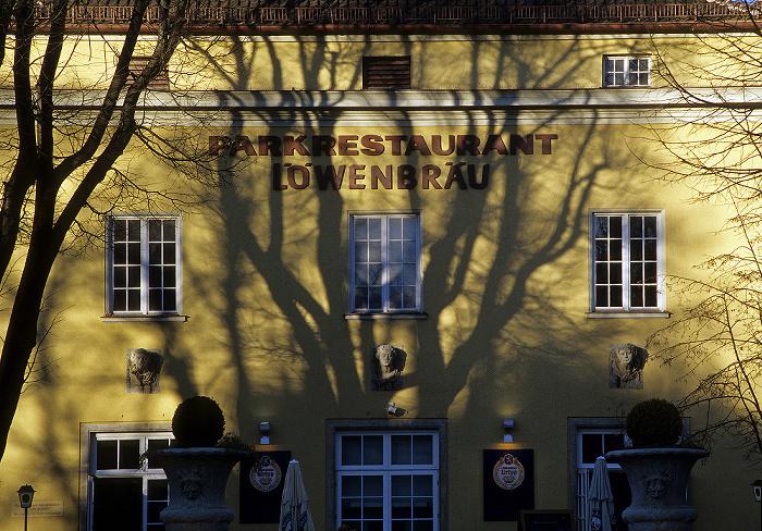 München Alter Botanischer Garten: Park Café