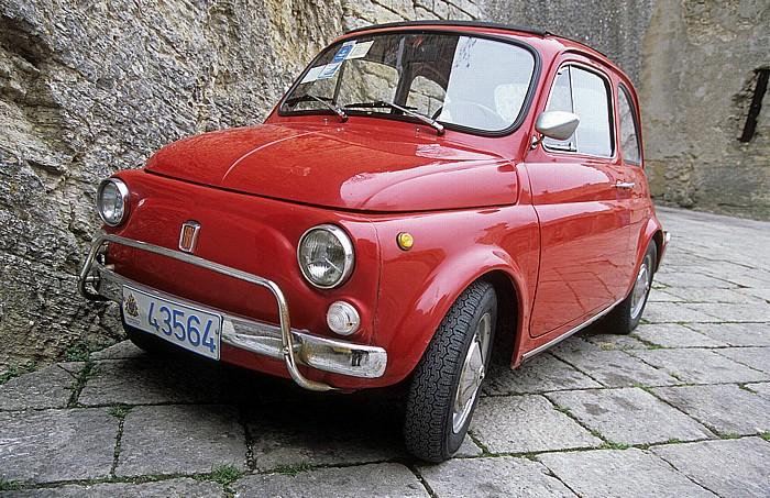 San Marino Fiat 500