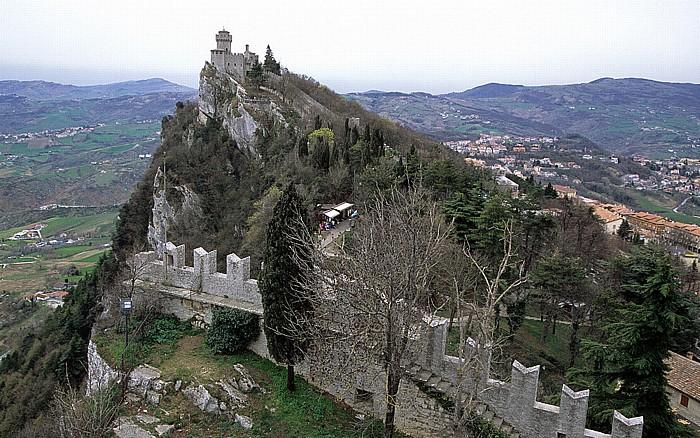 San Marino Monte Titano, Wehrturm La Cesta