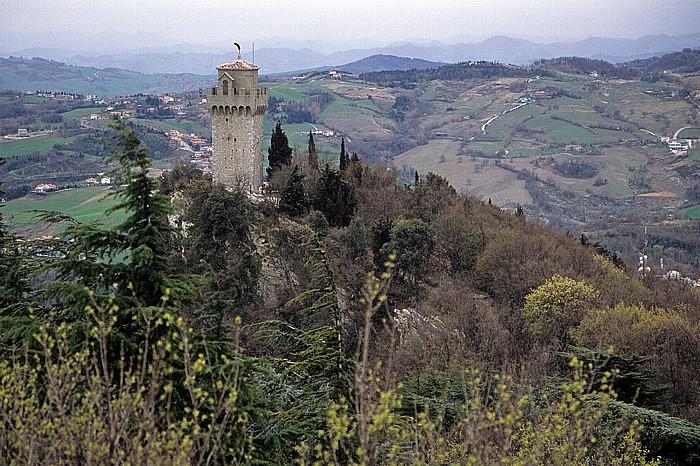 San Marino Monte Titano, Wehrturm Montale