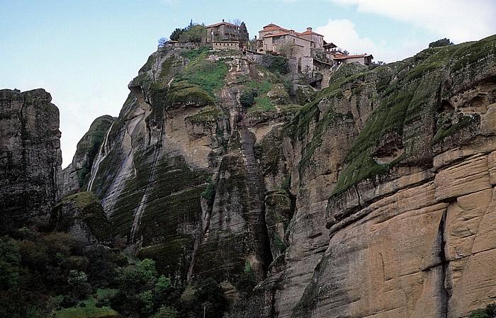 Felsen von Meteora: Kloster Metamórphosis (Megálo Metéoro) Metéora