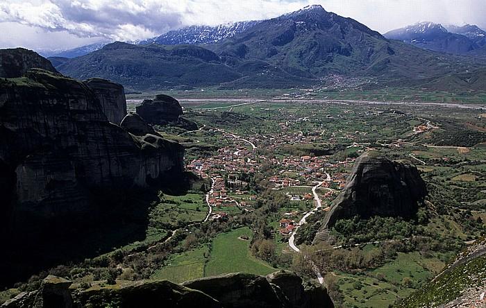Metéora Felsen von Meteora, Kastraki, Pindosgebirge
