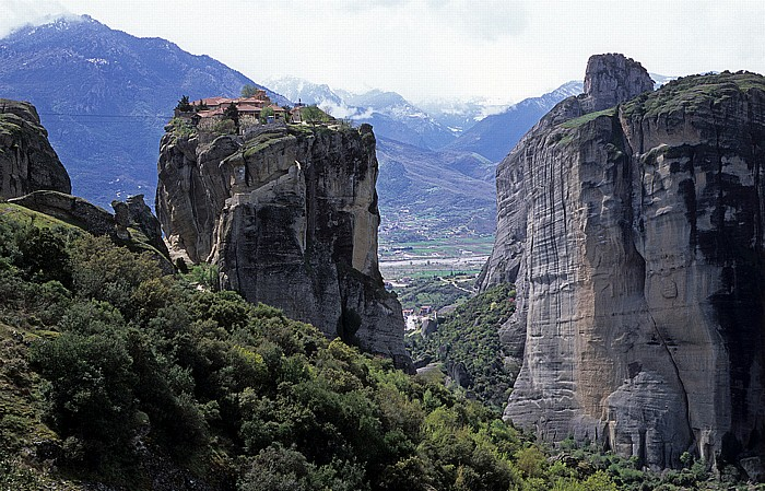 Felsen von Meteora: Kloster Agía Triáda Metéora
