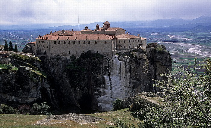 Metéora Felsen von Meteora: Nonnenkloster Agios Stéphanos
