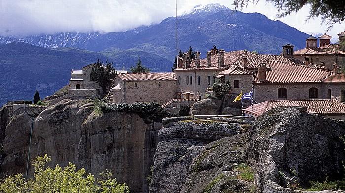 Felsen von Meteora: Nonnenkloster Agios Stéphanos Metéora