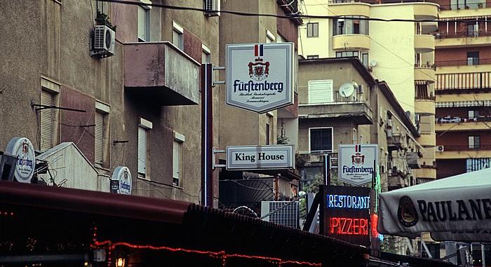 Tirana Blockviertel (Blloku): King House (Fürstenberg)