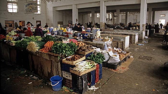 Korça Markthalle