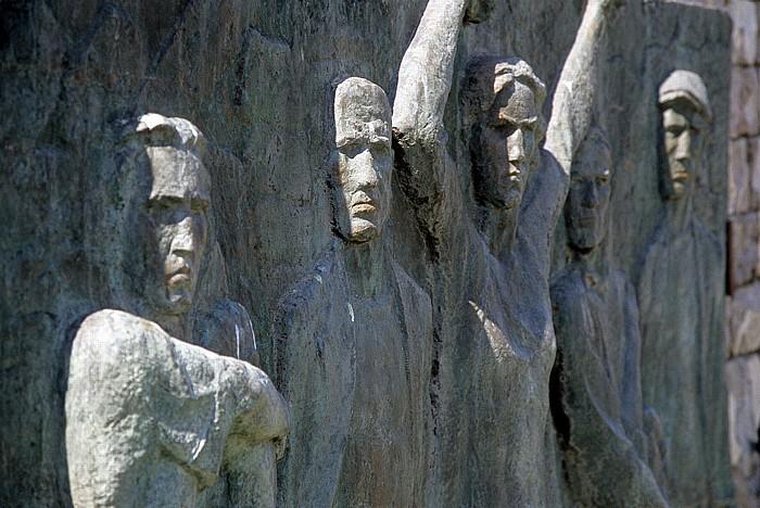 Borova Mahnmal zum Gedenken an das Wehrmachtsmassaker von 1943