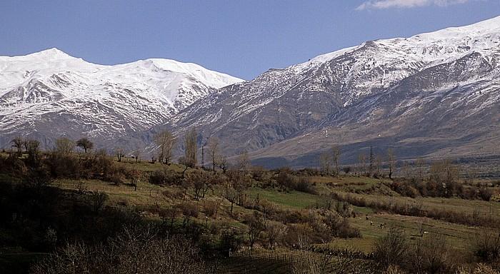 Borova Grammos-Gebirge (Gramoz)
