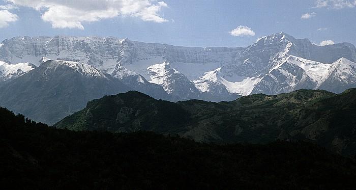 Albanien Zwischen Erseka und Përmet