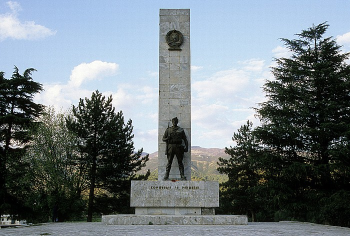 Denkmal Kongress von Përmet