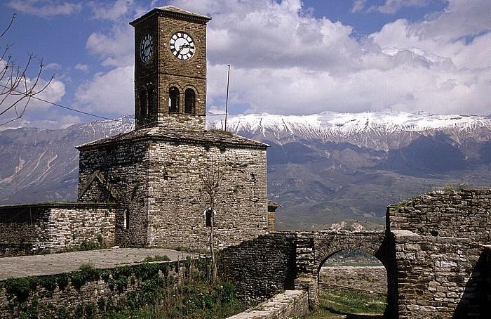 Gjirokastra Burg: Uhrturm