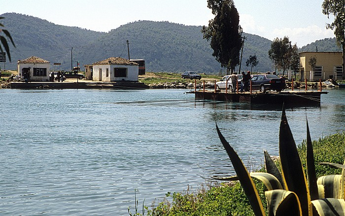 Butrint Fähre über den Vivar-Kanal