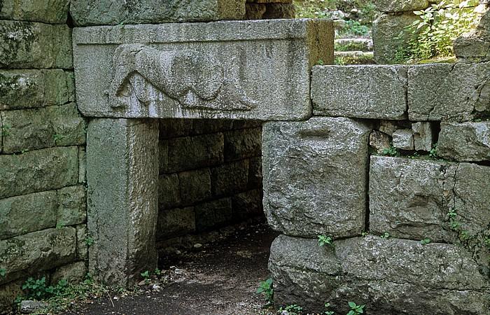 Butrint Löwentor