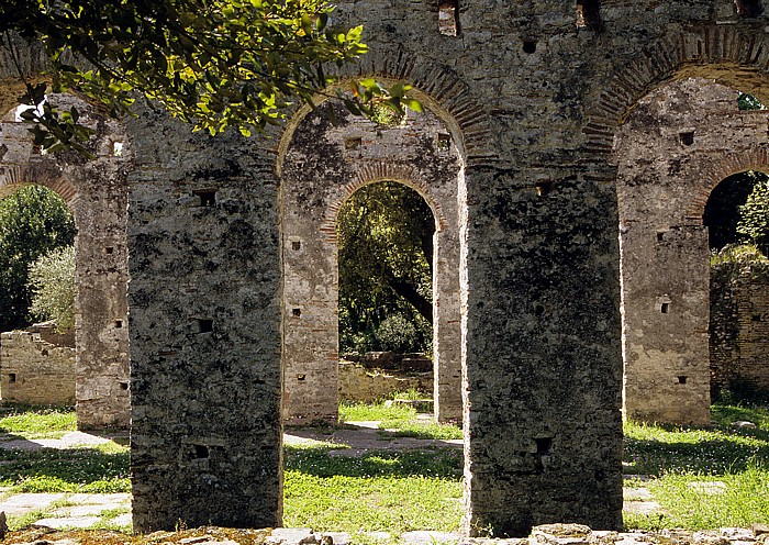 Butrint Frühchristliche Basilika