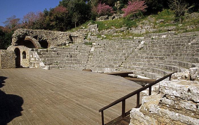Butrint Theater Heiligtum des Asklepios