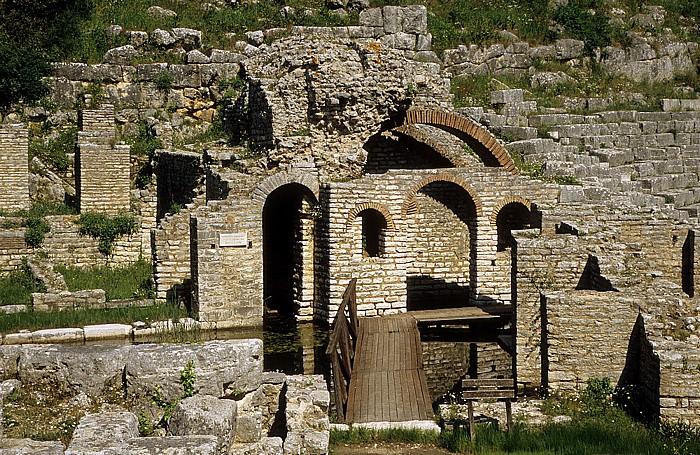 Butrint Heiligtum des Asklepios