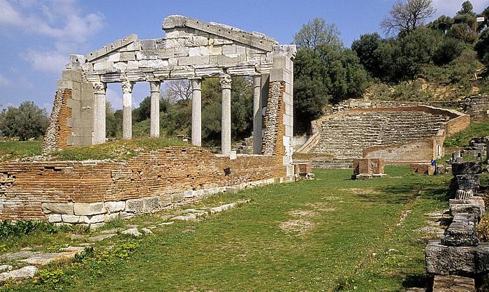 Apollonia Tempelruine (Monument des Agonothetes) Odeon
