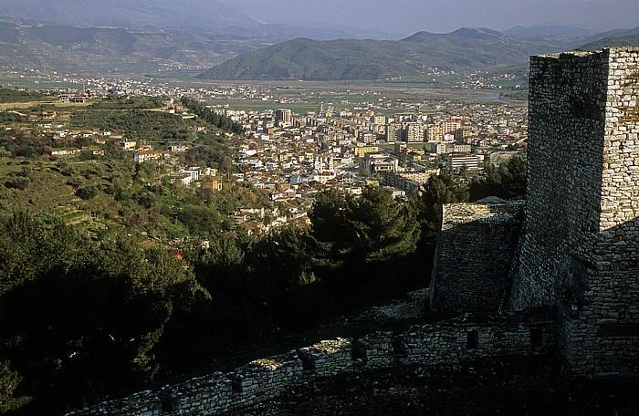 Berat Blick von der Burg (Kalaja)